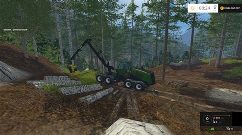 Birch Ls by Harvester Birch Trees Mod V 1 0 Fs15 Mod