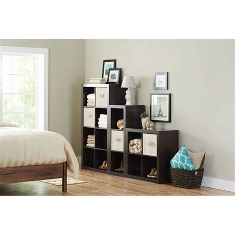 better homes and gardens 15 cube organizer staggered wall