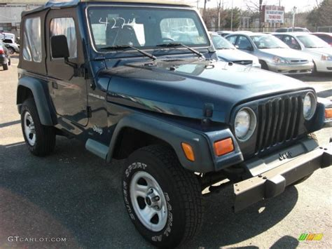patriot blue jeep wrangler 2000 patriot blue pearl jeep wrangler se 4x4 27168977