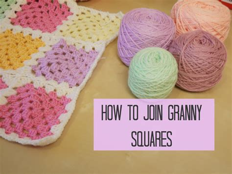 crochet how to join squares for beginners coco