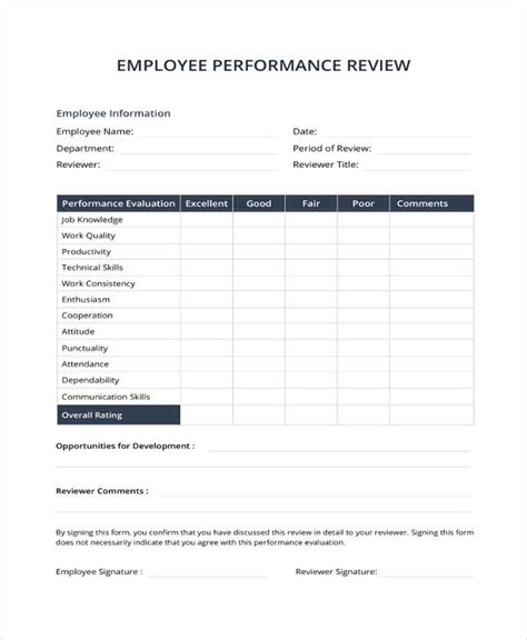 9 Sle Performance Review Templates Pdf Doc Free Premium Templates It Performance Review Template