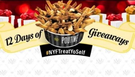 New York Giveaway - free new york fries 12 days of giveaways free stuff finder canada