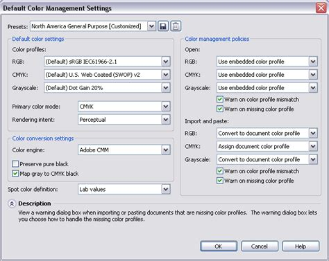 corel draw x6 memory settings coreldraw x6 color management settings 187 coreldraw x6