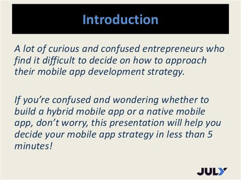 when to take a hybrid approach for mobile app development hybrid vs native mobile app decide in 5 minutes