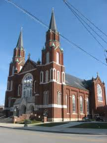 Catholic Churches St Joseph S Catholic Church Wapakoneta Ohio Wikiwand