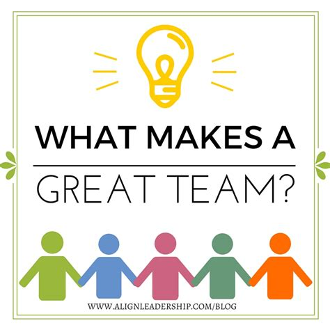 what makes a home what makes a great team align leadership