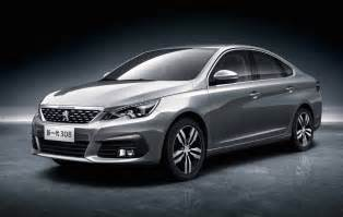 Peugeot 308 Pictures New China Only Peugeot 308 Sedan 3008 Revealed