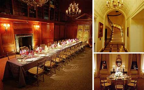 Harold Pratt House by New York Wedding Guide The High Budget Traditional Wedding