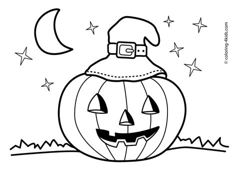 Halloween Coloring Pages Free Printable Scary Coloring Home Cute Coloring Pages L