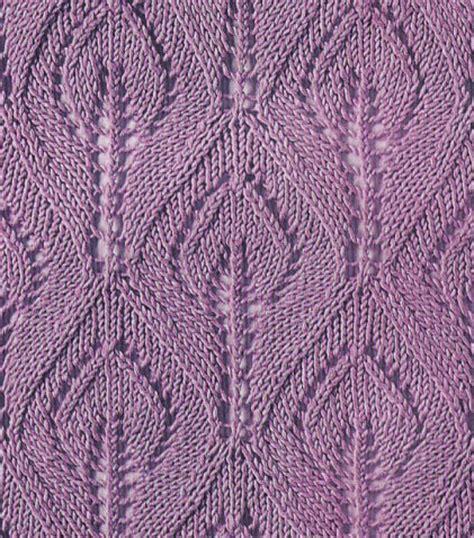 leaf knitting stitch leaf in a knitting stitch knitting kingdom
