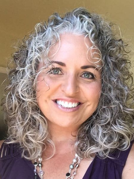 pictures of permed gray or silver hair 20 different types of perm hairstyles