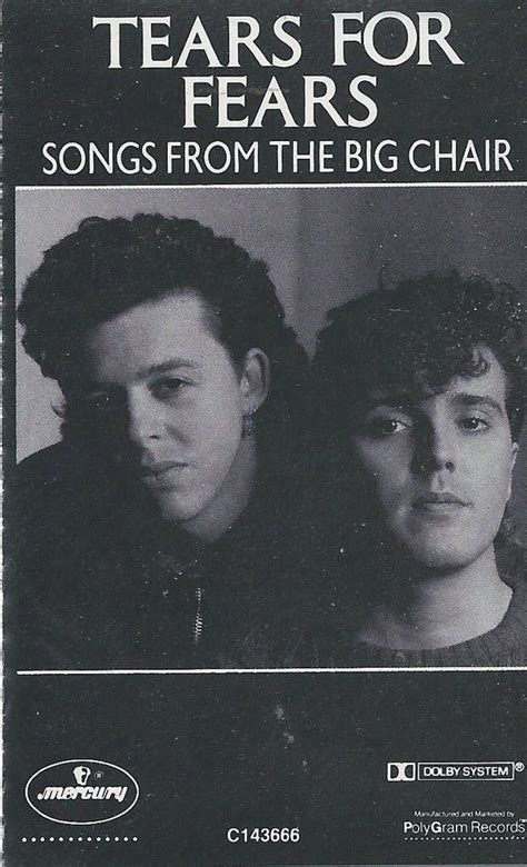 the big chair tears for fears tears for fears songs from the big chair vinyl lp 1985 us