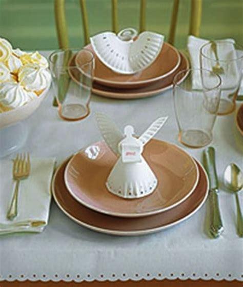 tavoli originali fai da te segnaposto originali fai da te per la tavola di natale