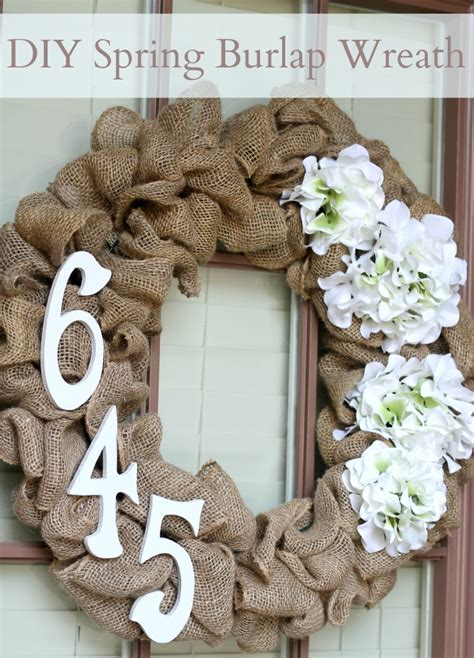 how to make a wreath with burlap diy spring burlap wreath domestic superhero