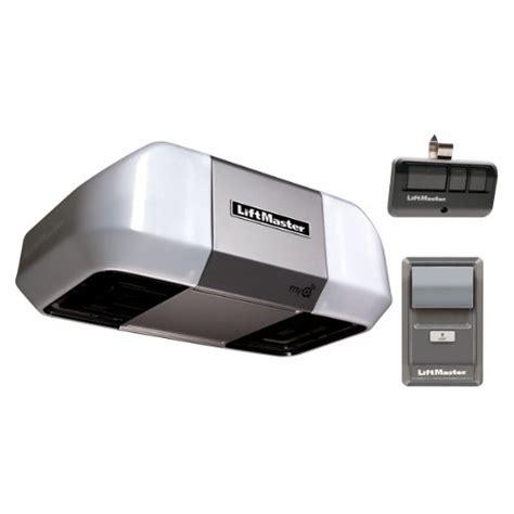 Liftmaster Belt Drive Garage Door Opener Liftmaster 8355 1 2 Hp Belt Drive Opener With Myq Technology