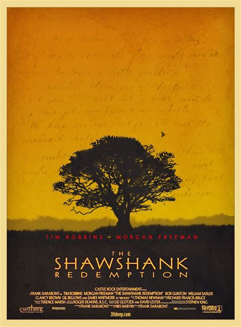 shawshank redemption tree shawshank redemption poster by 3ftdeep by 3ftdeep on