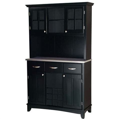 black wood buffet 3 drawer black wood buffet with stainless steel top and