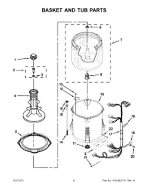 admiral washing machine parts diagram parts for admiral atw4675yq0 washer appliancepartspros