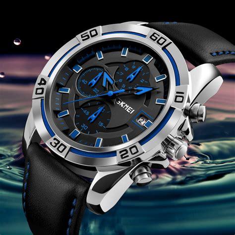 Jam Tangan Analog Skmei skmei jam tangan analog pria 9156