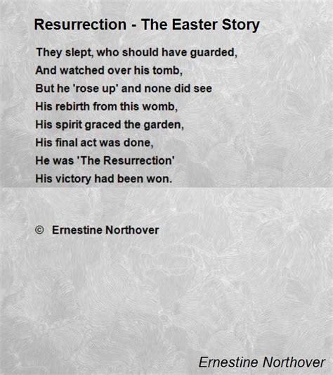 short easter poems for church