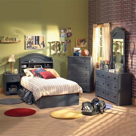 cymax schlafzimmer sets south shore summer blue 3 captain