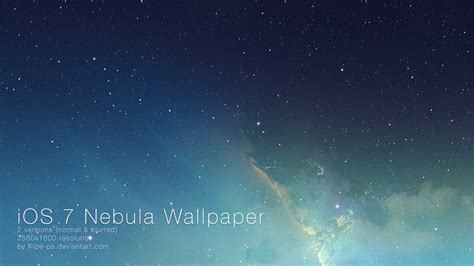 ios 7 space wallpaper iphone 6 ios 7 nebula wallpaper by filipe ps on deviantart