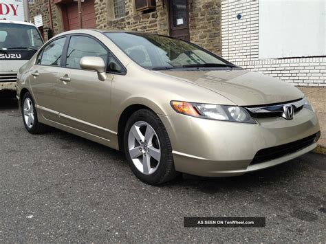 2007 Honda Civic Ex by Base Price 2007 Honda Civic Ex Sedan