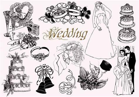 Wedding Border Brushes Photoshop by 20 Vintage Wedding Ps Brushes Abr Free Photoshop Brushes
