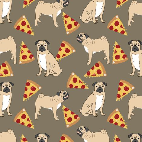 pug material pug pugs pizza pepperoni pizza print pizza trendy dogs pizza dogs