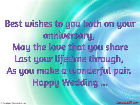 Wedding Anniversary Wishes Quotes To by Wishes For Best Friends Quotes Quotesgram