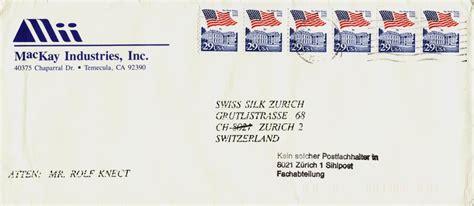 Brief In Schweiz Adressieren Philaseiten De Gestempelte Handschriftliche Oder Postvermerke Als Label Auf Belegen