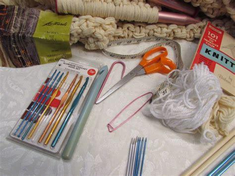 crochet knitting supplies lot detail lot of yarn knitting crochet supplies