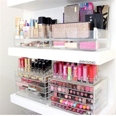 Shelf For Makeup 1000 ideas about makeup shelves on shelves safari bathroom and makeup drawer