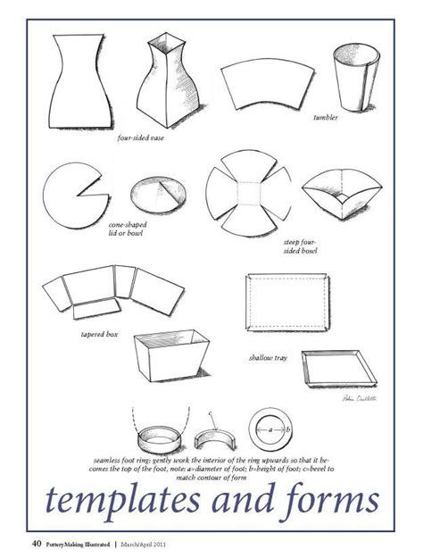 templates for clay projects 17 images about pottery templates on pinterest