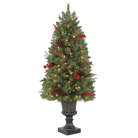 who makes martha stewart christmas trees martha stewart living 4 ft winslow potted artificial tree with 100 clear lights