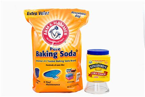 baking soda clay without cornstarch