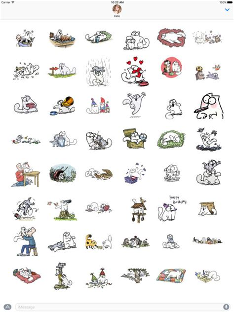 Simons Cat Stickers