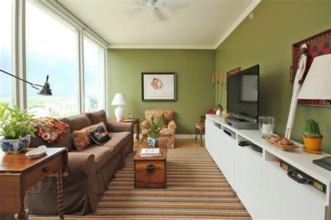 wohnzimmer layouts gr 252 n im wohnzimmer 25 beispiele f 252 r farbgestaltung