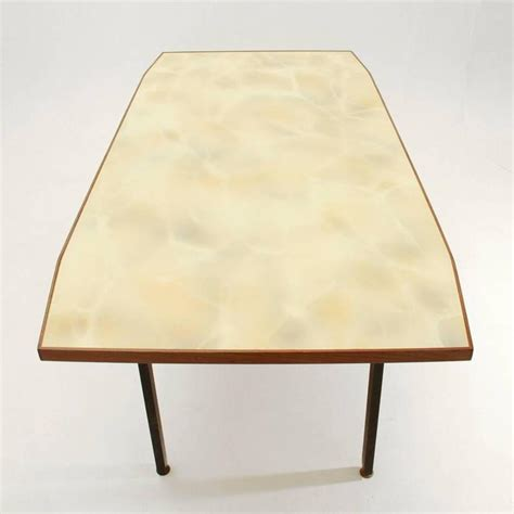 Italian Glass Dining Room Tables Italian Dining Table With Yellow Glass Top For Sale At 1stdibs