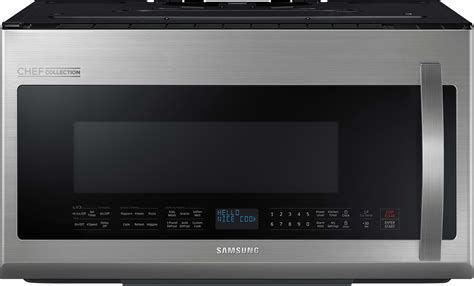 Samsung ME21H9900AS 2.1 cu. ft. Over the Range Microwave