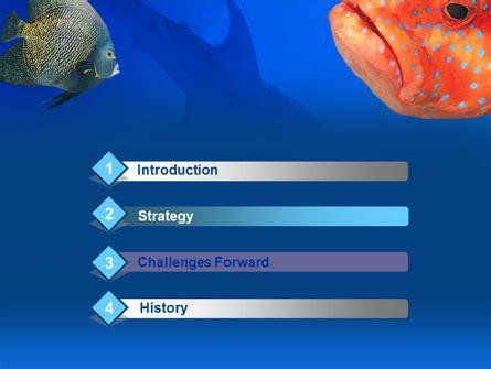 Fish In Aquarium Powerpoint Template Backgrounds 00273 Aquarium Ppt Templates Free