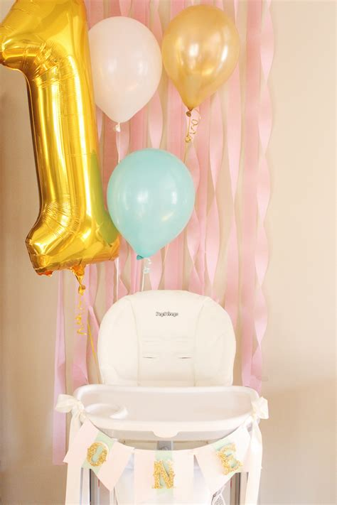 High Chair Decorations On High by Reveal Air Balloon Birthday Project Nursery