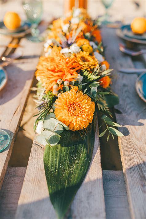 Tischdeko Hochzeit Orange by Inspiration F 252 R Eine Strandhochzeit Friedatheres