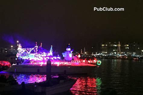 marina del rey holiday boat parade 2017 everything you - Marina Del Rey Boat Parade 2017