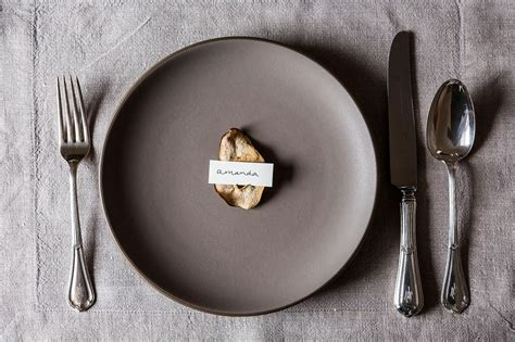 diy place card holders a bit of whimsy the culinary chase these 24 thanksgiving place card diys will set the table right