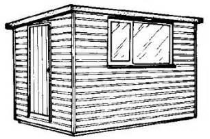 denny 8x6 shed design