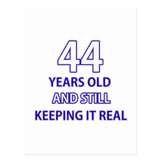 44 years old 44 years old cards 44 years old card templates postage