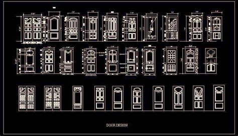 entrance design cad library autocad blocks autocad wooden panelled door designs plan n design