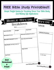 Bible Study Guide Outline by Printable Bible Study Notes Search Engine At