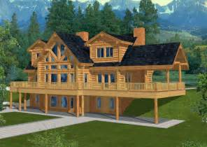 Log House Plans 4560 Sq Ft Majestic Style Log Home Log Design Coast